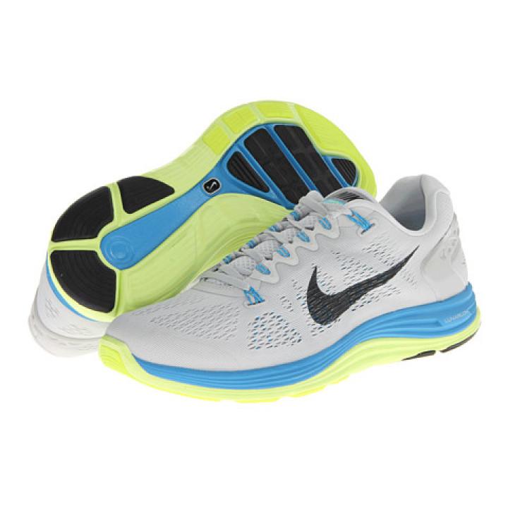 Кроссовки Nike Lunarglide+ 5 серые